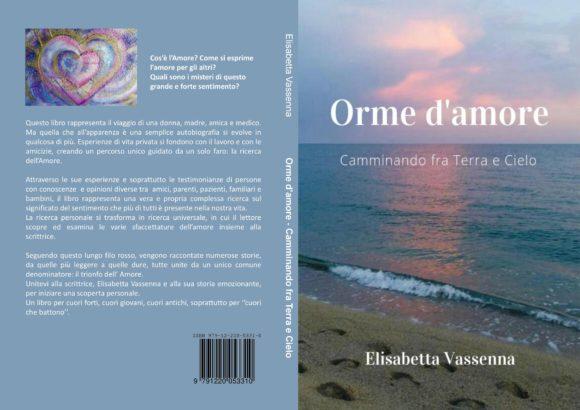 """""""Orme d'Amore"""" un libro emozionante…"""